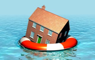 House flooded in Ontario because of rising waters