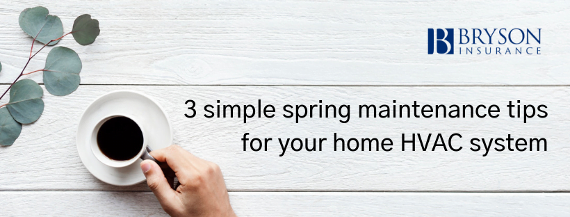 3 Simple Spring Maintenance Tips for Your Home HVAC System