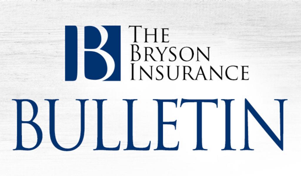 Bryson Insurance Bulletin Header