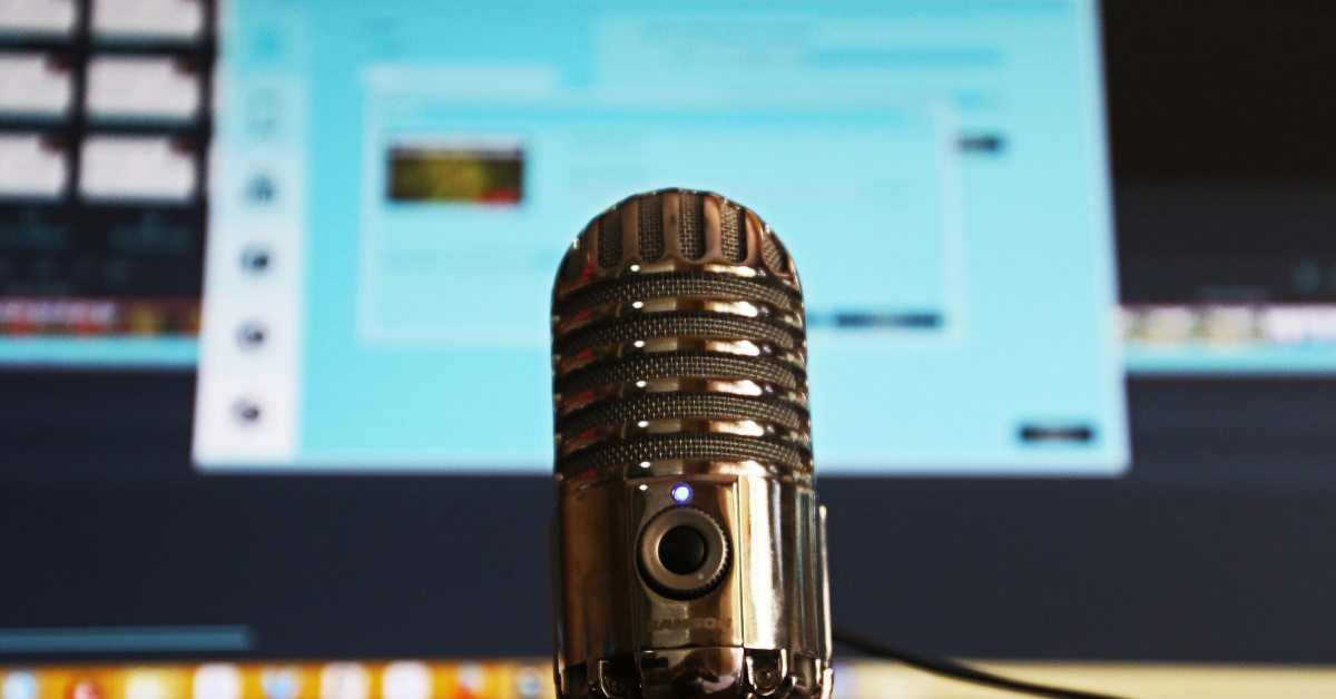 microphone from bryson insurance for hosting online events