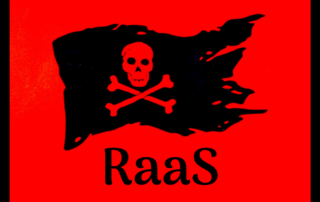 ransomware-as-a-service pirate flag