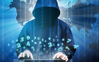 cyber hacker targeting businesses for ransom
