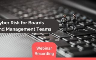 Cyber Risks for Boards and Management Teams Header