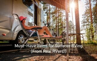 must have summer RVing items in Ontario