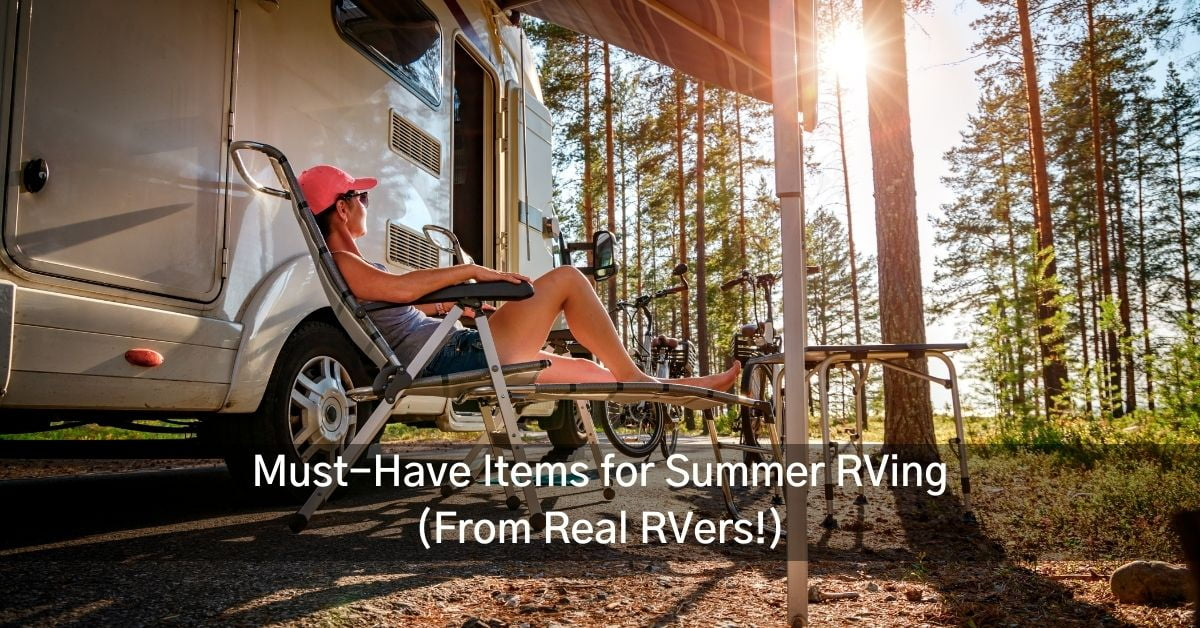 must have summer RVing items in Ontario RV