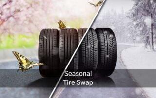 spring winter tire swap