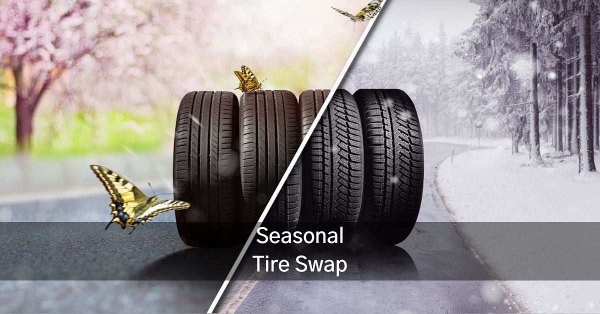 spring winter tire swap