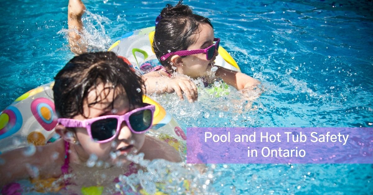 kids swimming with pool safety in mind